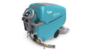 Tennant T600 Floor Scrubber with Linatex Squeegee